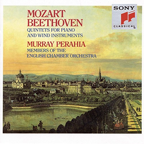 Mozart Beethoven Quintet In Eb Major Perahia*murray (pno) English Co