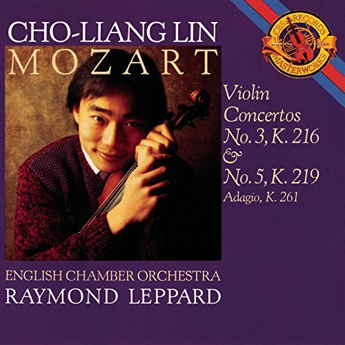 W.A. Mozart Con Vn 3 5 Lin*cho Liang (vn) Leppard English Co