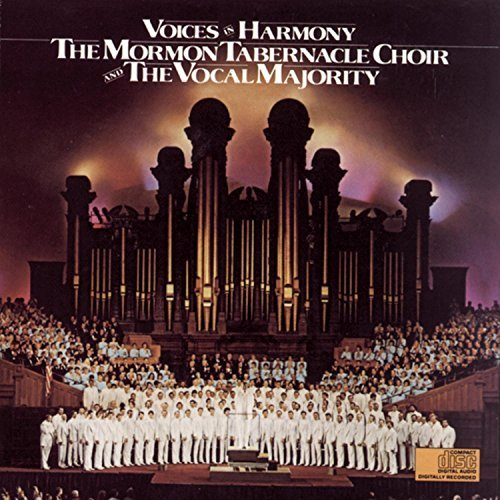 Mormon Tabernacle Choir Voices In Harmony Vocal Majority Mormon Tabernacle Choir