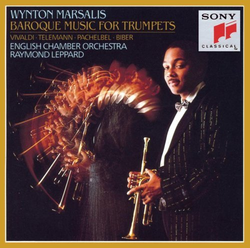 Marsalis Wynton Baroque Music For Trumpets Marsalis (tpt) Leppard English Co