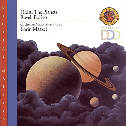 Holst Ravel Planets Bolero Maazel Orch Natl France