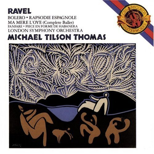 Ravel M. Bolero Rhaps Esp Ma Mere & Tilson Thomas London So