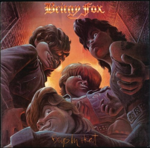 Britny Fox Boys In Heat