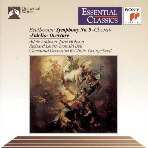 L.V. Beethoven Sym 9 Choral Fidelio Ovt Szell Cleveland Orch