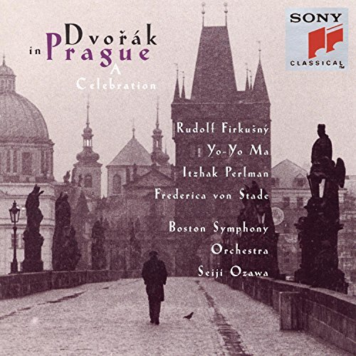 Antonin Dvorák In Prague A Celebration Ma Perlman Von Stade Firkusny Ozawa Boston So
