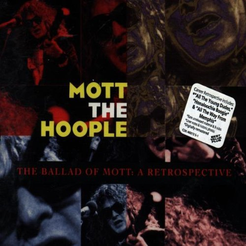 Mott The Hoople Ballad Of Mott Retrospective Historic Liner Notes & Photos 2 CD Set