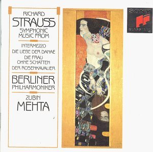 R. Strauss Sym Music From Intermezzo Lieb Mehta Berlin Phil