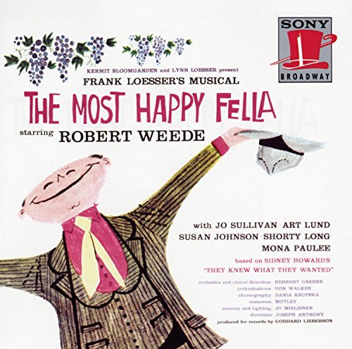 Most Happy Fella Original Broadway Cast Weede Sullivan Lund Johnson 2 CD Set