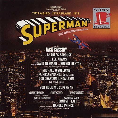 Superman Original Broadway Cast Cassidy O'sullivan Marand