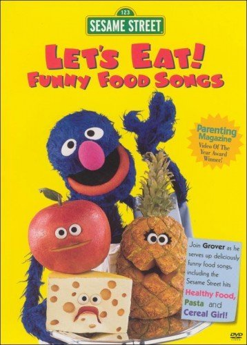 Let's Eat! Funny Food Songs Sesame Street Nr