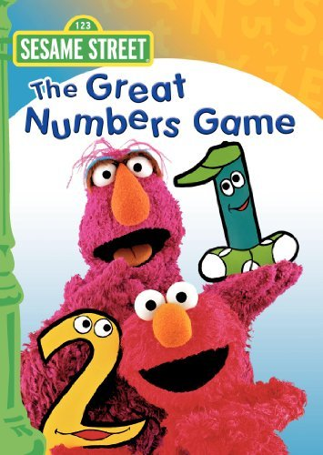 Great Numbers Game Sesame Street Clr Cc Chnr
