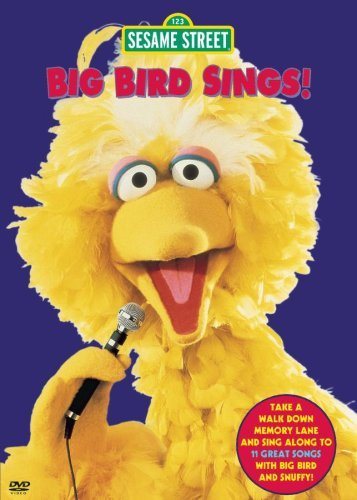Sesame Street Big Bird Sings Clr Nr