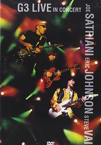 Satriani Johnson Vai G3 Live In Concert G3 Live In Concert