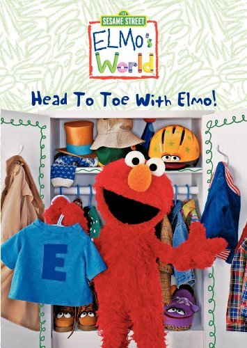 Sesame Street Elmo's World Head To Toe With Clr Nr