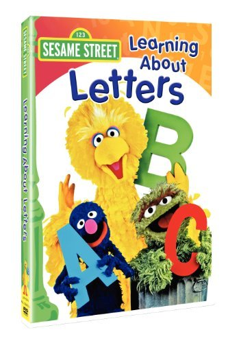 Sesame Street Learning About Letters Clr Nr