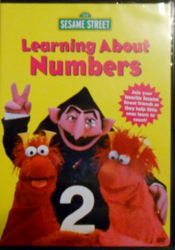 Sesame Street Learning About Numbers Clr Nr