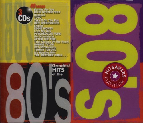 Greatest Hits Of The 80's Greatest Hits Of The 80's Tutone Psychedelic Furs Money 3 CD
