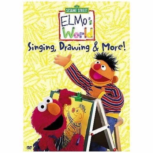 Elmo's World Singing Drawing & More Clr Nr