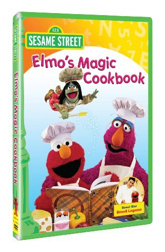 Elmo Magic Cookbook Sesame Street Nr