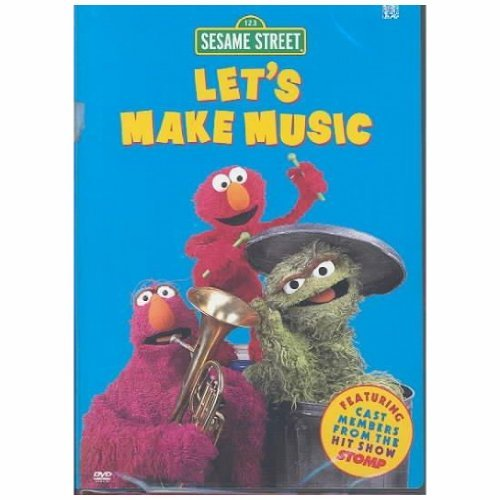 Sesame Street Let's Make Music Clr Nr