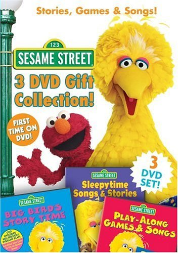 Stories Games & Songs Sesame Street Chnr 3 DVD