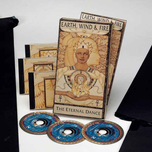 Earth Wind & Fire Eternal Dance 3 CD 3 Cass Box Set Incl. 48 Pg. Book
