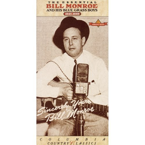 Bill Monroe Essential 1945 1949 Incl. 40 Pg. Book 2 CD Set