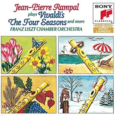 A. Vivaldi Four Seasons Rampal*jean Pierre (fl) Rolla Liszt Co
