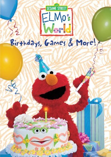Elmo's World Birthdays Games & More Clr Nr