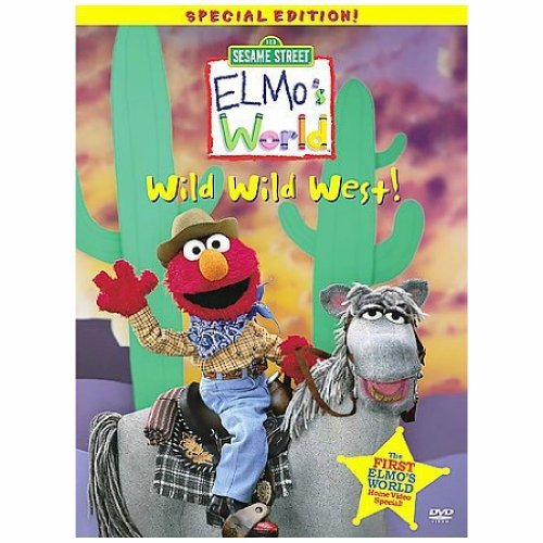 Wild Wild West Elmo's World Clr Cc St Chnr