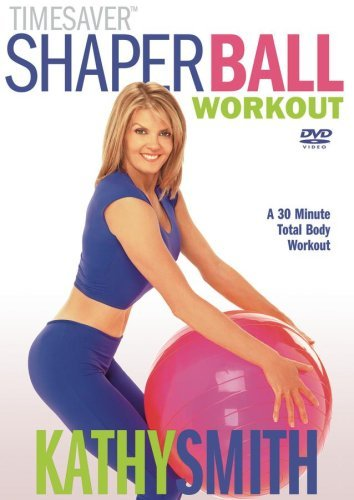 Kathy Smith Shaper Ball Workout Clr Nr