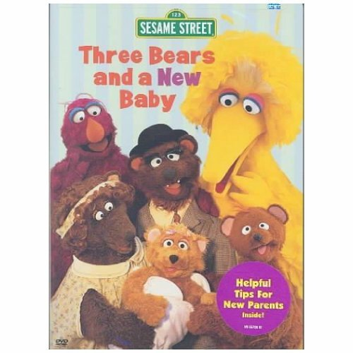 Three Bears & New Baby Sesame Street Nr