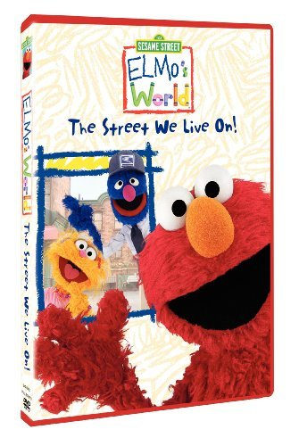Sesame Street Elmos World Street We Live On Clr Nr