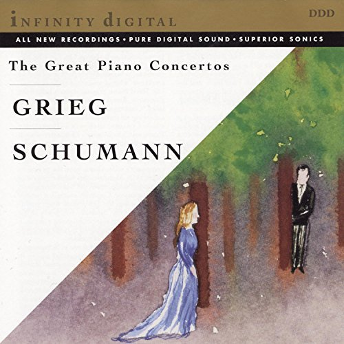 Grieg Schumann Great Piano Concertos Urjash (pno) Min (pno) Titov St. Petersburg New Phil
