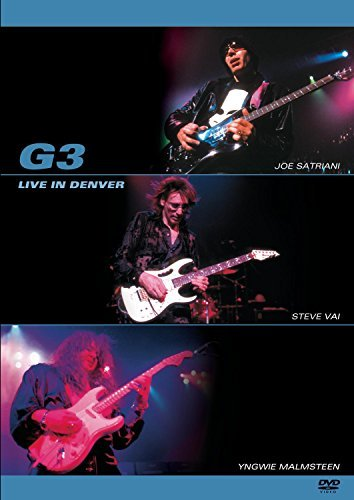 G3 Live In Denver Feat. Satriani Vai Malmsteen Live In Denver