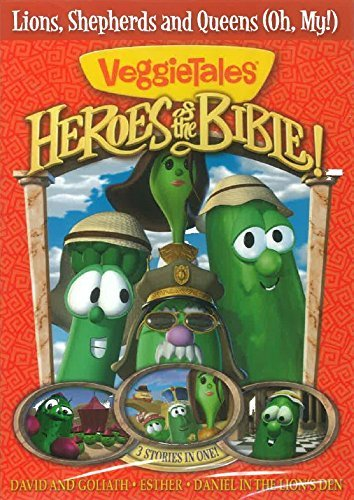 Veggie Tales Heroes Of The Bible Lions Shep Clr Nr