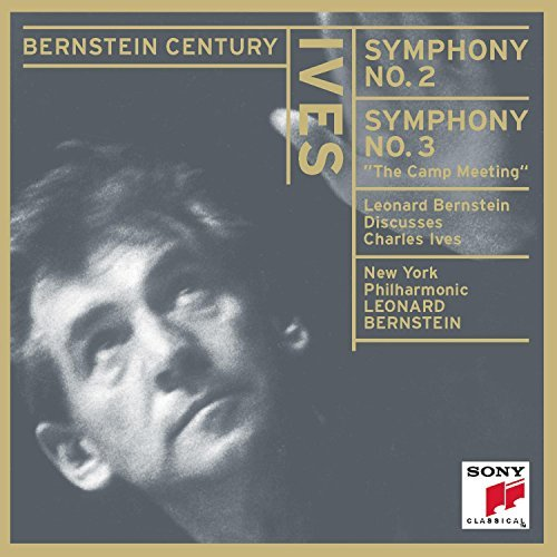 C. Ives Symphony Nos 2 & 3 (includes B Bernstein New York Po