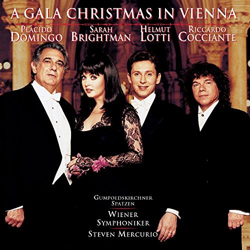 Domingo Brightman Lotti Coccia Gala Christmas In Vienna Domingo Brightman Lotti &