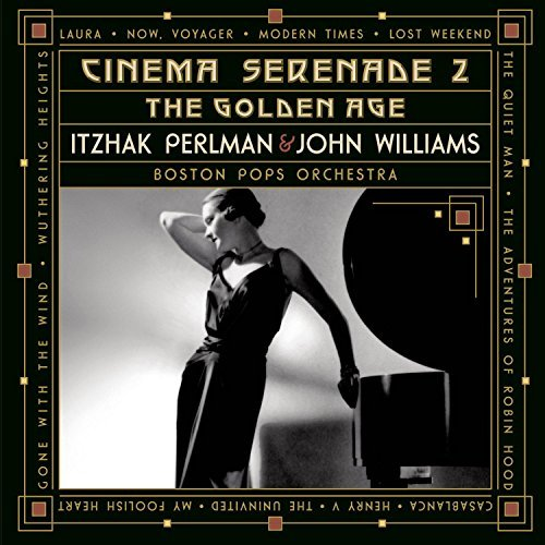 Perlman Williams Cinema Serenade 2 Perlman (vn) Williams (gtr) Boston Pops Orch