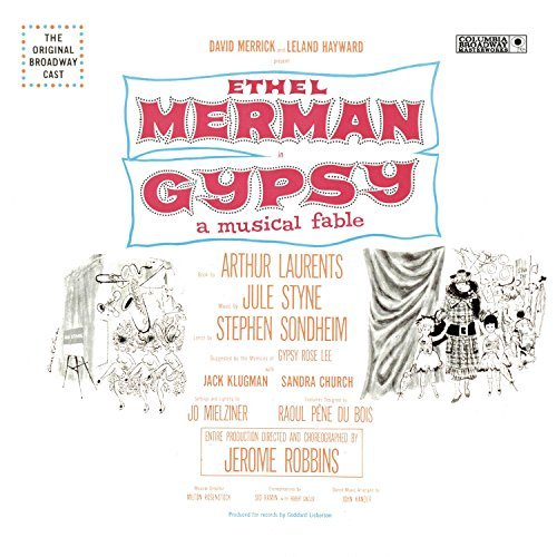 Gypsy Original Broadway Cast Merman Styne Sondheim