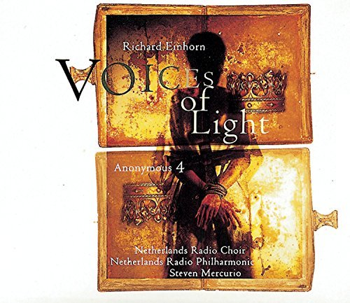 R. Einhorn Voices Of Light Anonymous 4 Narucki Pronk + Mercurio Netherlands Rad Phil