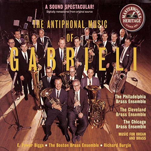 Gabrieli Frescobaldi Antiphonal Music Of Gabrieli Various