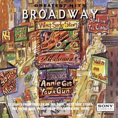 Broadway Cast Broadway Greatest Hits Merman Holliday Day Topol