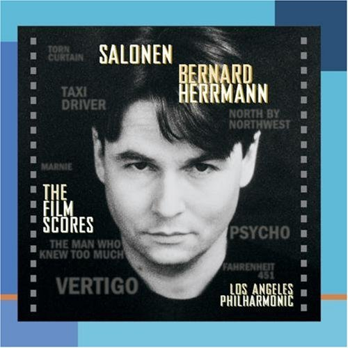B. Hermann Film Scores CD R Salonen Los Angeles Phil