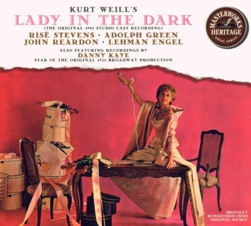 Lady In The Dark Original Cast Recording 1963 Stevens Green Reardon Bridges Engel