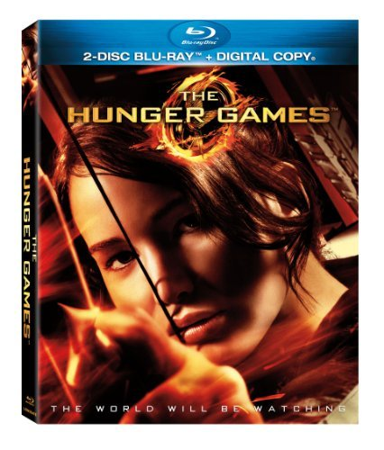 Hunger Games Lawrence Hutcherson Hemsworth Blu Ray Dc Pg13 Ws