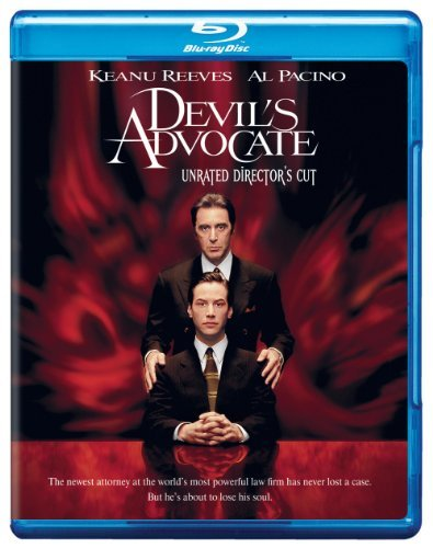 Devil's Advocate Reeves Pacino Theron Blu Ray Ws Director's Cut Ur