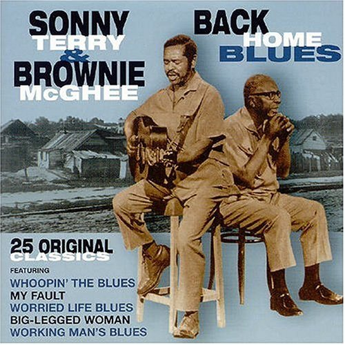 Sonny Terry & Brownie Mcghee Back Home Blues Import Gbr