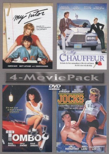 My Chauffeur My Tutor Jocks Tomboy 4 Movie Pack