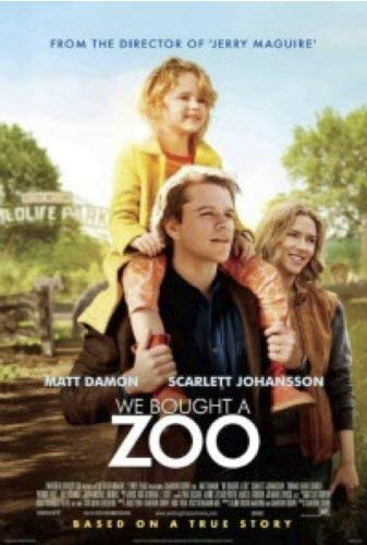 We Bought A Zoo Damon Johansson Blu Ray
